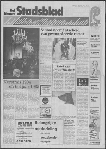 Het Nieuwe Stadsblad 1984-12-21