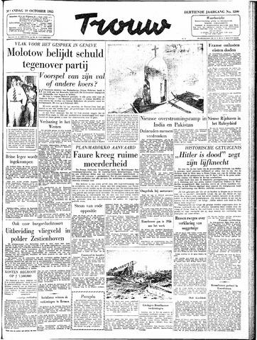 Trouw / De Rotterdammer 1955-10-10