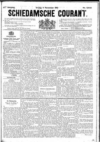 Schiedamsche Courant 1910-11-04