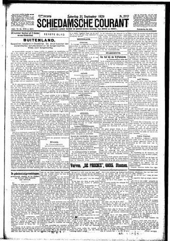 Schiedamsche Courant 1929-09-21