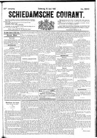 Schiedamsche Courant 1912-06-15