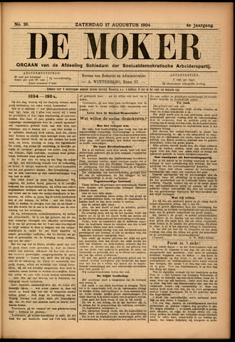 De Moker 1904-08-27