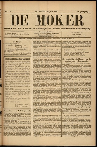 De Moker 1908-07-11