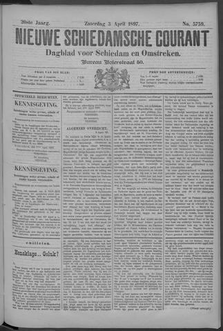 Nieuwe Schiedamsche Courant 1897-04-03