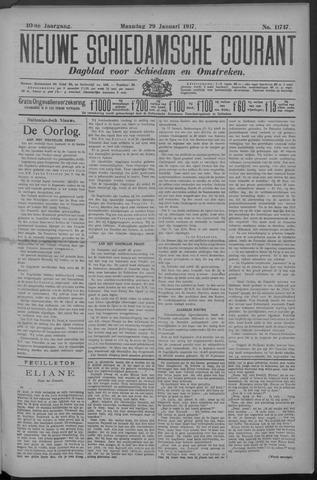 Nieuwe Schiedamsche Courant 1917-01-29