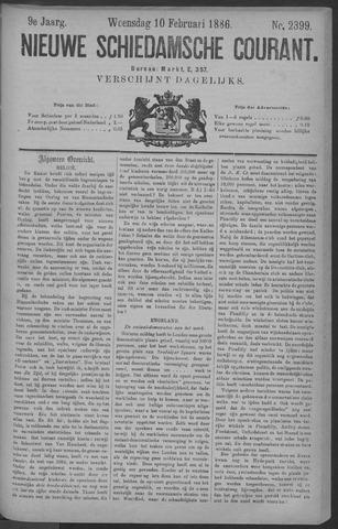 Nieuwe Schiedamsche Courant 1886-02-10