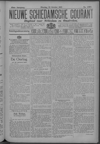 Nieuwe Schiedamsche Courant 1917-10-23