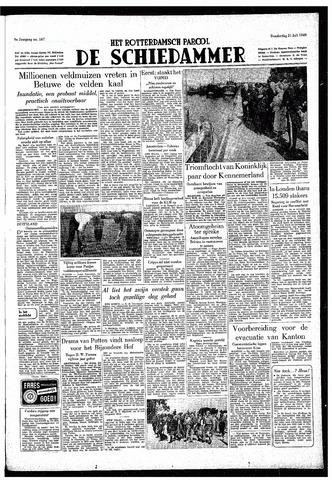 Rotterdamsch Parool / De Schiedammer 1949-07-21