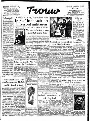 Trouw / De Rotterdammer 1954-12-21