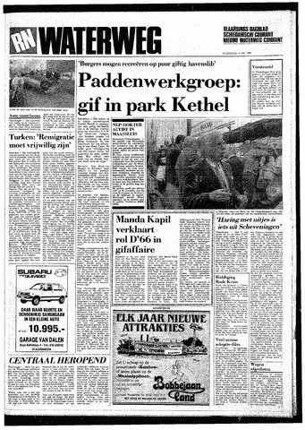 Rotterdamsch Nieuwsblad / Schiedamsche Courant / Rotterdams Dagblad / Waterweg / Algemeen Dagblad 1985-05-15