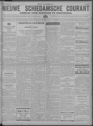 Nieuwe Schiedamsche Courant 1929-11-29