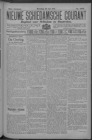 Nieuwe Schiedamsche Courant 1917-07-30