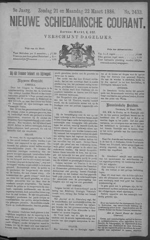 Nieuwe Schiedamsche Courant 1886-03-22