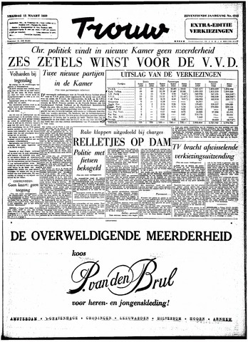 Trouw / De Rotterdammer 1959-03-13