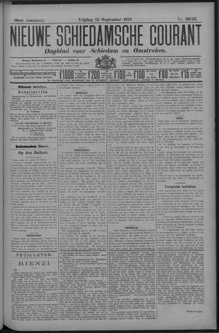 Nieuwe Schiedamsche Courant 1913-09-12