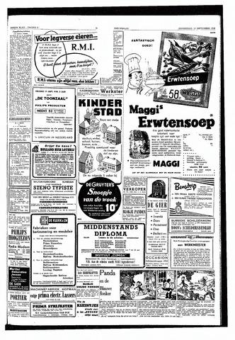 Rotterdamsch Nieuwsblad / Schiedamsche Courant / Rotterdams Dagblad / Waterweg / Algemeen Dagblad 1953-09-10
