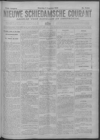 Nieuwe Schiedamsche Courant 1929-08-05
