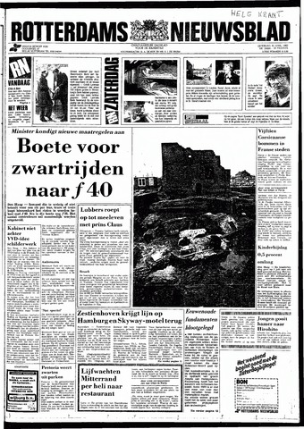 Rotterdamsch Nieuwsblad / Schiedamsche Courant / Rotterdams Dagblad / Waterweg / Algemeen Dagblad 1983-04-30