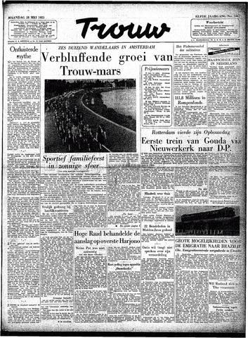 Trouw / De Rotterdammer 1953-05-18