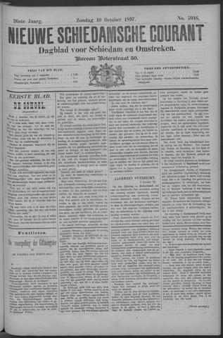 Nieuwe Schiedamsche Courant 1897-10-10