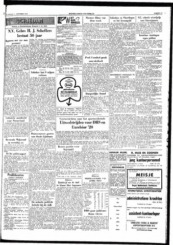 Rotterdamsch Nieuwsblad / Schiedamsche Courant / Rotterdams Dagblad / Waterweg / Algemeen Dagblad 1959-10-31