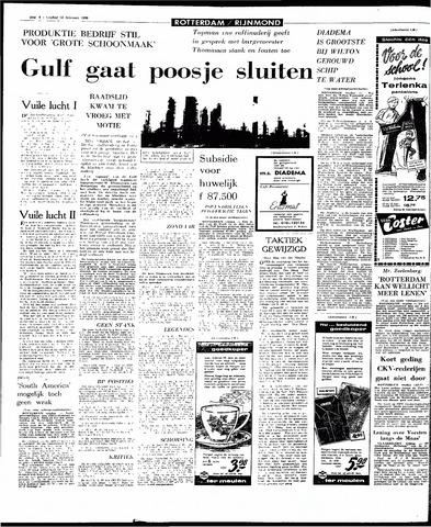 Rotterdamsch Parool / De Schiedammer 1966-02-18