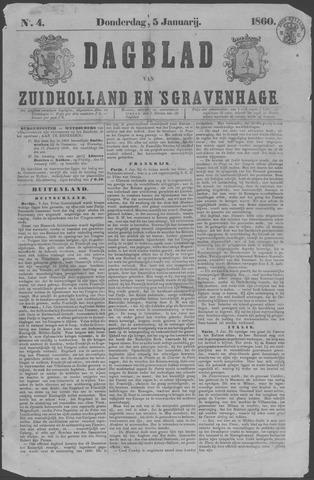 Dagblad van Zuid-Holland 1860