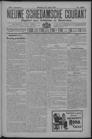 Nieuwe Schiedamsche Courant 1913-04-29