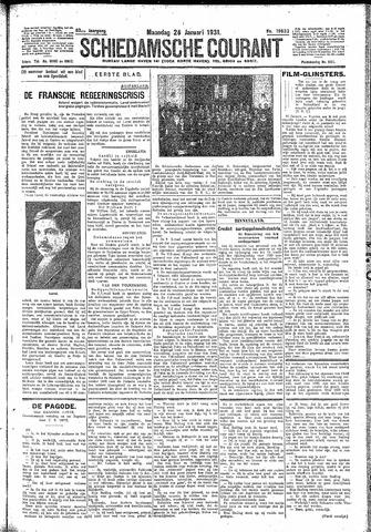 Schiedamsche Courant 1931-01-26