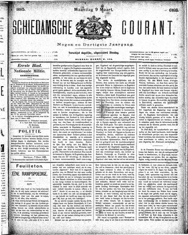 Schiedamsche Courant 1885-03-09