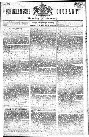 Schiedamsche Courant 1862-01-27