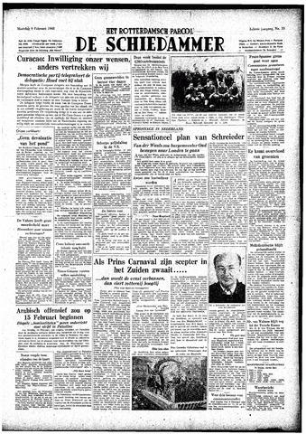 Rotterdamsch Parool / De Schiedammer 1948-02-09