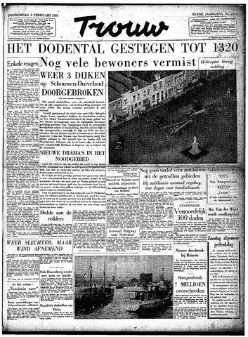 Trouw / De Rotterdammer 1953-02-05