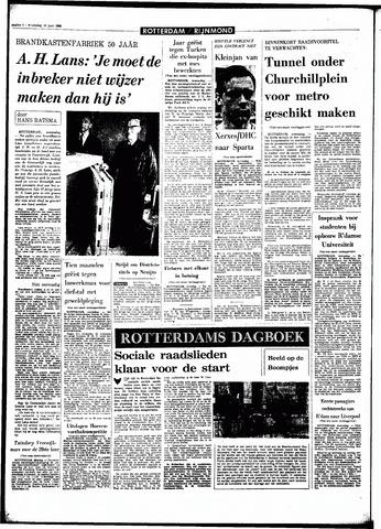 Rotterdamsch Parool / De Schiedammer 1968-06-19