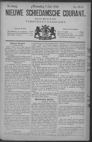 Nieuwe Schiedamsche Courant 1886-07-07