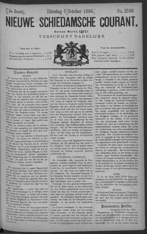 Nieuwe Schiedamsche Courant 1886-10-05