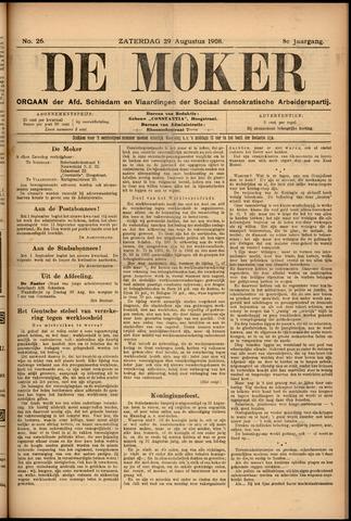 De Moker 1908-08-29