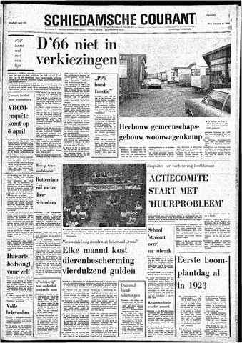 Rotterdamsch Nieuwsblad / Schiedamsche Courant / Rotterdams Dagblad / Waterweg / Algemeen Dagblad 1974-04-02