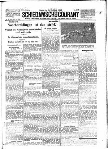 Schiedamsche Courant 1935-10-24