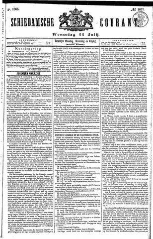 Schiedamsche Courant 1866-07-11