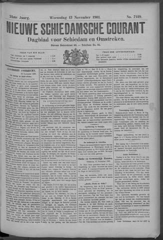 Nieuwe Schiedamsche Courant 1901-11-13