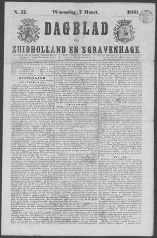 Dagblad van Zuid-Holland 1860-03-07