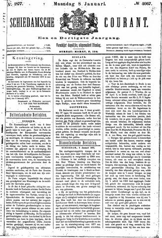 Schiedamsche Courant 1877-01-08
