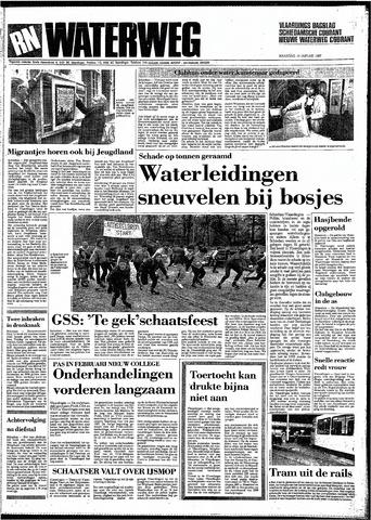 Rotterdamsch Nieuwsblad / Schiedamsche Courant / Rotterdams Dagblad / Waterweg / Algemeen Dagblad 1987-01-19