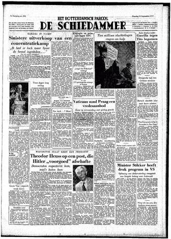 Rotterdamsch Parool / De Schiedammer 1949-09-13