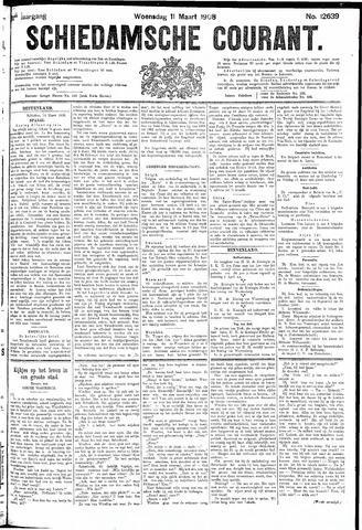 Schiedamsche Courant 1908-03-11