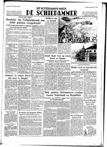 Rotterdamsch Parool / De Schiedammer 1948-12-27