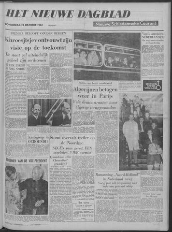 Nieuwe Schiedamsche Courant 1961-10-19