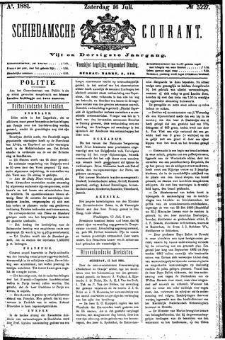 Schiedamsche Courant 1881-07-16