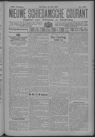 Nieuwe Schiedamsche Courant 1918-06-22